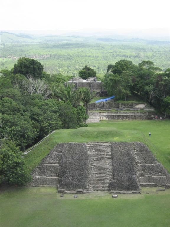View from top of El Castillo